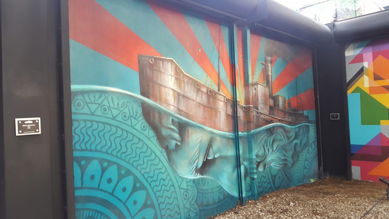 Wynwood Walls, Wynwood Walls Miami, Miami Art, Miami visuals, Miami murals, Miami US, girl at Wynwood Walls, Miami street art, staceessmoothie, stacee's smoothie, stacees smoothie