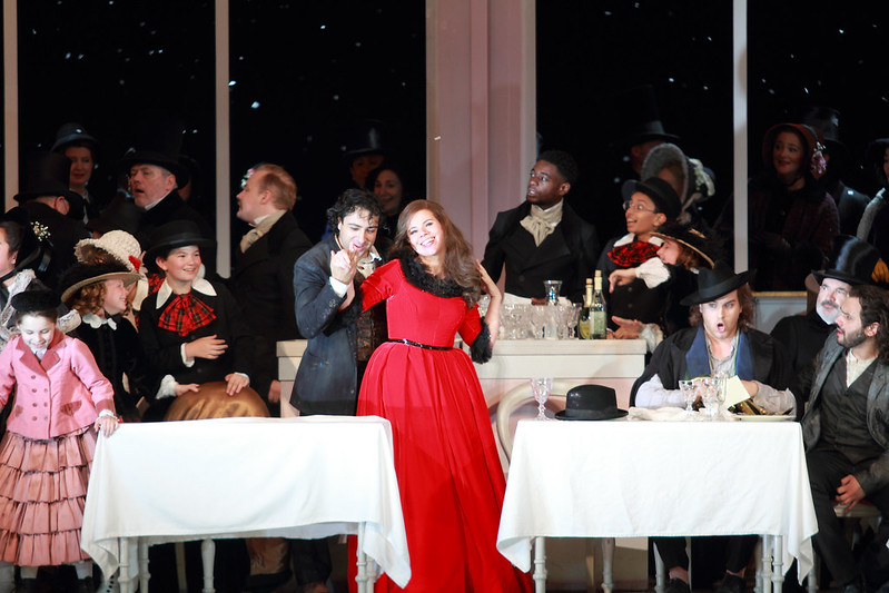 stacee's smoothie, staceessmothie, stacees smoothie, vlada borovko, opera, opera singer, royal opera house, actress, singer, theater, theatre, performance, performing arts, la boheme, musette, musetta, stage, stage performance, costume, classical music, classical singer