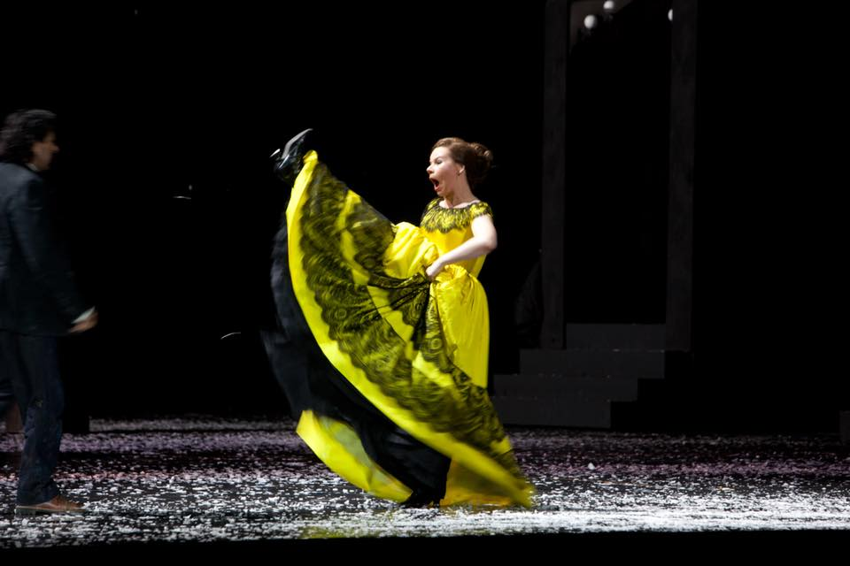 vlada, stacee's smoothie, staceessmothie, stacees smoothie, vlada borovko, opera, opera singer, royal opera house, actress, singer, theater, theatre, performance, performing arts, la boheme, musette, musetta, stage, stage performance, costume, classical music, classical singer, ROH, Russian singer, yellow dress, Russian opera singer, borovko